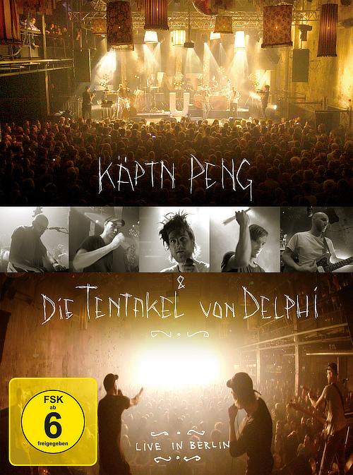 Käptn Peng & Die Tentakel von Delphi - Live in Berlin DVD