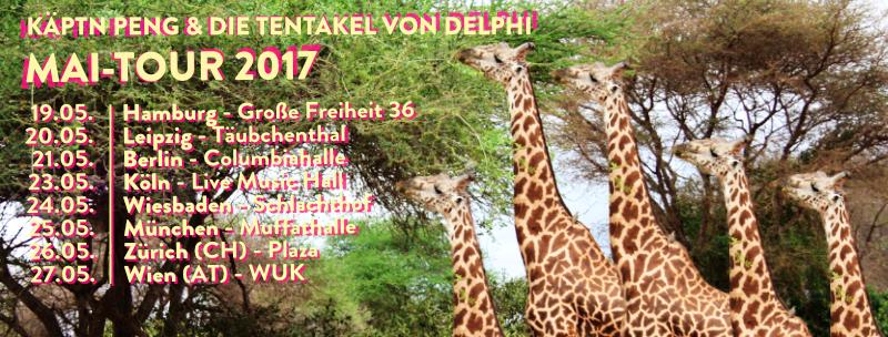 Käptn Peng & Die Tentakel von Delphi Mai Tour 2017
