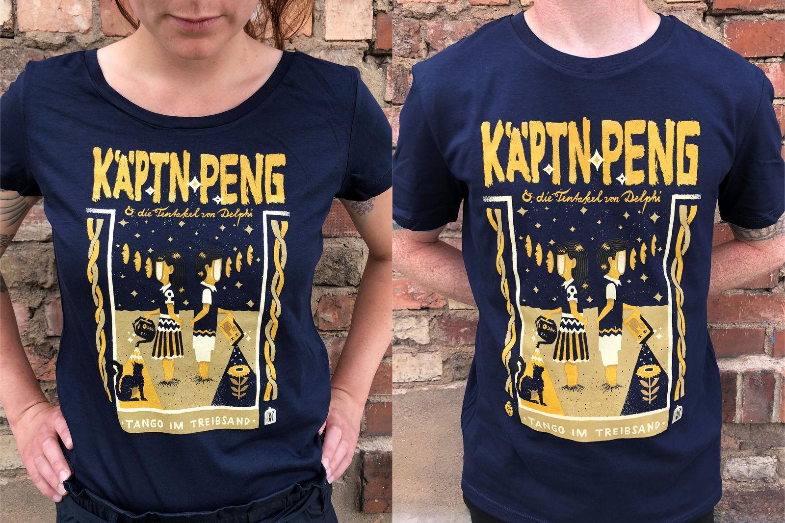 KÄPTN PENG & DIE TENTAKEL VON DELPHI Tango im Treibsand Shirt